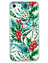 Case For Apple iPhone 6 iPhone 7 Translucent Pattern Embossed Back Cover Flower Tree Cartoon Soft TPU for iPhone X iPhone 8 Plus iPhone 8