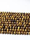 Joias DIY 65 pcs Contas Cristal Amarelo Redonda Bead 0.6 cm faca voce mesmo Colar Pulseiras