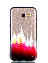 Case For Samsung Galaxy A8 Plus 2018 A8 2018 Transparent Embossed Pattern Back Cover Tree Hard PC for A5(2018) A7(2018) A3(2017) A5(2017)