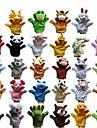 Fantoche de Dedo Fantoches Fantoche Brinquedos Rabbit Porco Fofinho Animais Adoravel Tecido Felpudo Felpudo Crianca Pecas