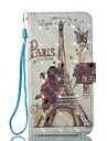 Case For Apple iPhone X / iPhone 8 Wallet / Card Holder / with Stand Full Body Cases Eiffel Tower Hard PU Leather for iPhone X / iPhone 8 Plus / iPhone 8