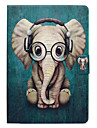 Case For Apple iPad 10.5 Card Holder with Stand Flip Pattern Auto Sleep/Wake Up Full Body Cases Elephant Hard PU Leather for iPad 4/3/2