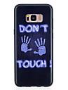 케이스 제품 Samsung Galaxy S8 Plus S8 패턴 뒷면 커버 단어 / 문구 소프트 TPU 용 S8 Plus S8 S7 edge S7 S6 edge S6