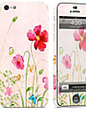1 pc Skin Sticker for Scratch Proof Flower Pattern PVC iPhone 5c