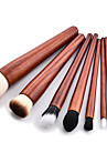 9pcs Eyeshadow Brush Makeup Brush Set Synthetic Hair Eco-friendly Beech Wood Face
