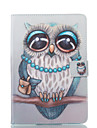 Case For Apple iPad mini 4 / iPad Mini 3/2/1 with Stand / Flip / Pattern Full Body Cases Owl Hard PU Leather for iPad Mini 3/2/1 / iPad Mini 4