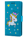 Case For Sony Xperia XZ Card Holder with Stand Flip Pattern Full Body Cases Unicorn Hard PU Leather for Sony Xperia XZ Sony Xperia XA