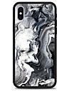 케이스 제품 Apple iPhone X iPhone 8 Plus 패턴 뒷면 커버 라인 / 웨이브 마블 하드 아크릴 용 iPhone X iPhone 8 Plus iPhone 8 iPhone 7 Plus iPhone 7 iPhone 6s Plus