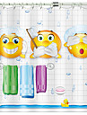Shower Curtains & Hooks Modern Polyester Novelty Machine Made Waterproof