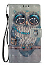 Case For Sony Xperia L2 Xperia XZ2 Card Holder Wallet with Stand Flip Pattern Full Body Cases Owl Hard PU Leather for Xperia XA2 Xperia