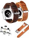 Watch kapela pro Apple Watch Series 3 / 2 / 1 Apple Kožená smyčka Kůže Poutko na zápěstí