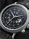 YAZOLE Муж. Повседневные часы Китайский Кварцевый Календарь Повседневные часы PU Группа Мода Cool Черный Коричневый