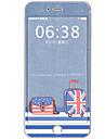 1 piece Autocollant de Protection pour Anti-Rayures Bande dessinee Motif PVC iPhone 6s Plus/6 Plus