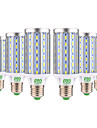 YWXLIGHT® 6pcs 25W 2000-2500lm E26 / E27 LED Corn Lights T 72 LED Beads SMD 5730 Decorative Warm White Cold White 85-265V
