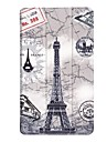 Case For Lenovo Tab 7 Essential with Stand Origami Full Body Cases Geometric Pattern Owl Eiffel Tower Hard PU Leather for Lenovo Tab 7