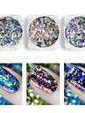 1 pcs Poudre de paillettes Nail Glitter Nail Art Design