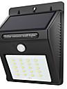 1шт 2 Вт. Светодиоды на солнечной батарее Инфракрасный датчик Водонепроницаемый Управление освещением Уличное освещение Белый DC3.7V