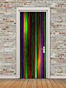 Абстракция Наклейки Простые наклейки 3D наклейки Декоративные наклейки на стены Наклейки на холодильник, Винил Украшение дома Наклейка на