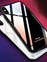 Etui Til Apple iPhone X iPhone 8 Stoetsikker Speil Bakdeksel Ensfarget Hard Silikon til iPhone X iPhone 8 Plus iPhone 8 iPhone 7 Plus