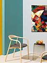 Painettu Valssatut kangasjulisteet - Abstrakti Moderni
