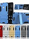 غطاء من أجل هواوي P9 / هواوي P9 لايت / هواوي استمتع 5S P9 Lite / P9 / P8 Lite ضد الصدمات / مع حامل غطاء خلفي درع قاسي الكمبيوتر الشخصي إلى Huawei P9 Lite / Huawei P9 / Huawei P8 Lite