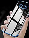 Coque Pour Samsung Galaxy S9 S9 Plus Plaque Translucide Coque Couleur Pleine Flexible TPU pour S9 Plus S9 S8 Plus S8