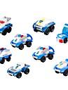 ブロックおもちゃ 建設セット玩具 知育玩具 車 互換性のある Legoing 減圧玩具 親子インタラクション 軍用車両 パトカー 男の子 女の子 おもちゃ ギフト