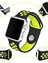 Pulseiras de Relogio para Apple Watch Series 4/3/2/1 Apple Pulseira Esportiva Silicone Tira de Pulso