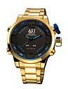 ASJ Pánské Sportovní hodinky Digitální hodinky japonština Digitální Nerez Zlatá 50 m Alarm Chronograf Stopky Analog - Digitál Módní - Červená Modrá Jeden rok Životnost baterie / SSUO SR626SW + CR2025