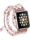 시계 밴드 용 Apple Watch Series 3 / 2 / 1 Apple 스포츠 밴드 / 쥬얼리 디자인 메탈 손목 스트랩