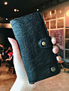 Case For Huawei P20 / P20 Pro Wallet / Card Holder / Flip Full Body Cases Solid Colored Hard Genuine Leather for Huawei P20 / Huawei P20