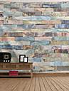 Mimari Duvar Dekoru Polyester Vintage Duvar Sanatı, Duvar Halılar Dekorasyon