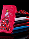 Case For Samsung Galaxy S9 Plus / S9 Wallet / Card Holder / Flip Full Body Cases Sexy Lady Hard PU Leather for S9 / S9 Plus / S8 Plus