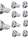 10pcs 6 W 400 lm GU10 / E26 / E27 LED reflektori 3 LED zrnca Visokonaponski LED Ukrasno Toplo bijelo / Hladno bijelo 85-265 V / 10 kom. / RoHs