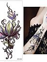 3 pcs Tetovací nálepky dočasné tetování Květinová řada Tělesné Arts zápěstí
