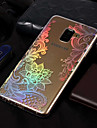 Case For Samsung Galaxy A8 Plus 2018 / A8 2018 Plating / Pattern Back Cover Lace Printing Soft TPU for A3(2017) / A5(2017) / A8 2018