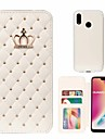 Case For Huawei P20 Pro / P20 lite Rhinestone Full Body Cases Tile / Geometric Pattern Hard PU Leather for Huawei P20 / Huawei P20 Pro / Huawei P20 lite