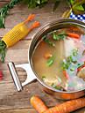 1pc Herramientas de cocina Silicona Cool / Multiples Funciones / Cocina creativa Gadget Coladores y escurridores