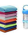 Kølehåndklæde Lugtfri -ko Venlig Anti-skrid Ice Silk til Yoga Pilates Bikram Himmelblå Lys pink Lys Grøn