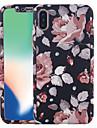 Etui Käyttötarkoitus Apple iPhone X / iPhone 8 Kuvio Suojakuori Kukka Kova PC varten iPhone X / iPhone 8 Plus / iPhone 8