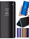 Θήκη Za Samsung Galaxy A6+ (2018) / A6 (2018) sa stalkom / Zrcalo Korice Jednobojni Tvrdo PU koža za A6 (2018) / A6+ (2018) / A3 (2017)