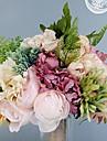زهور اصطناعية 1 فرع فردي الزفاف Wedding Flowers الورود أرطنسية بنفسجي أزهار الطاولة