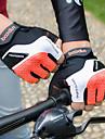 Luvas Esportivas Luvas de Ciclismo Anti-Escorregar Sem Dedo Licra / uretano poli Unisexo