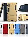 Etui Käyttötarkoitus Sony Xperia XZ Tuella Takakuori Yhtenäinen Kova PC varten Sony Xperia XZ