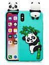 케이스 제품 Apple iPhone X / iPhone 8 Plus DIY 뒷면 커버 팬더 소프트 TPU 용 iPhone X / iPhone 8 Plus / iPhone 8