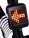 LED Světla na kolo bezpečnostní světla Zadní světla Cyklistika Voděodolné Nový design Lehká váha Lithiové baterie 80 lm Červená Cyklistika