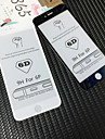 Ochrona ekranu na Jabłko iPhone 6s Plus / iPhone 6 Plus Szkło hartowane 1 szt. Folia ochronna ekranu Wysoka rozdzielczość (HD) / Twardość 9H / 3D zaokrąglone rogi