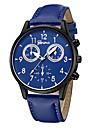 Geneva Pentru femei Ceas de Mână Chineză Model nou / Ceas Casual / Cool Piele Bandă Casual / Modă Negru / Albastru / Maro