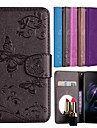Case For OnePlus OnePlus 6 Card Holder / Flip / Pattern Full Body Cases Solid Colored / Butterfly Hard PU Leather for OnePlus 6