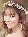 여성용 단순한 머리 핀 - 플로럴 꽃패턴